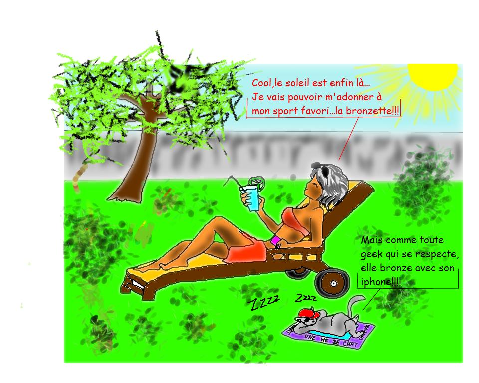 C est le printemps carnet de bord d 39 une croqueuse - Coup de soleil que faire pour ne pas peler ...